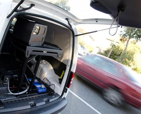 redflex dual radar in car