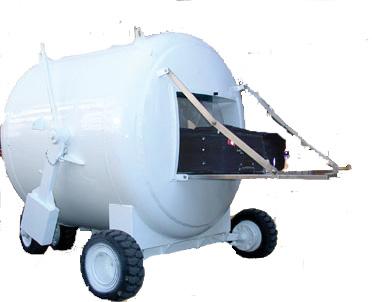 Golan 3 Explosive Storage Vessel